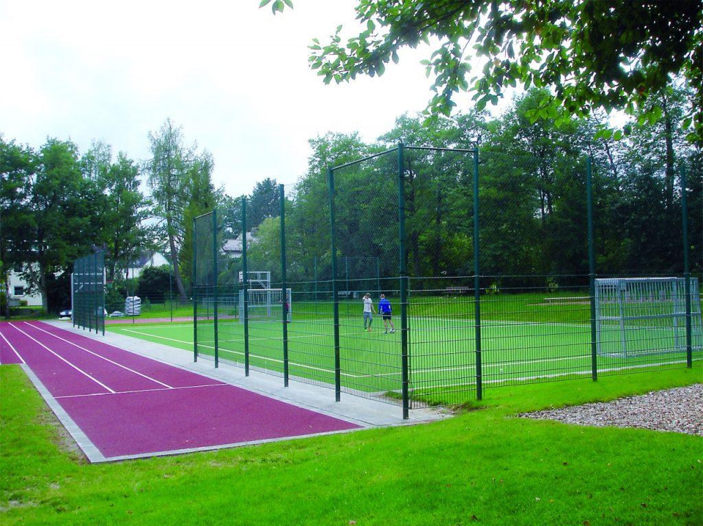 Sportplatz in den Braumannswiesen eröffnet