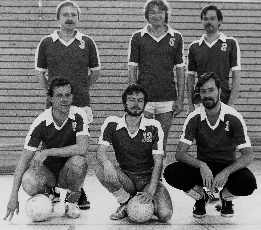 Gründung der Volleyballgruppe
